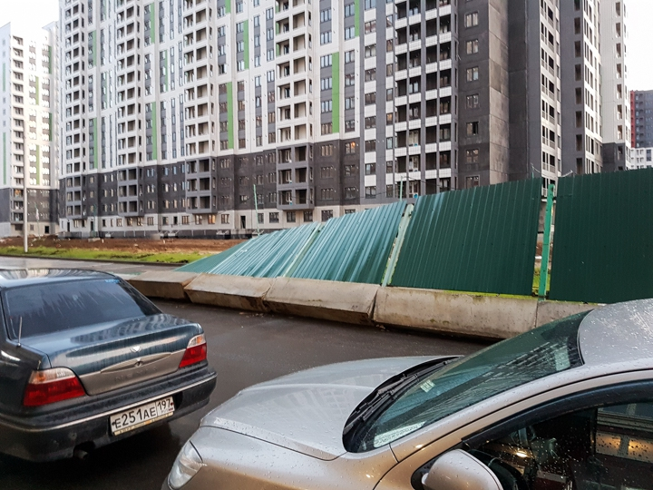 Последствия урагана в Видном и Ленинском районе. Фоторепортаж фото 29