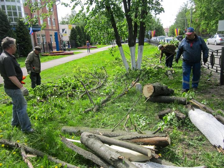 Последствия урагана в Видном и Ленинском районе. Фоторепортаж фото 13
