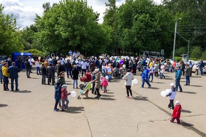 В Видном прошел масштабный митинг-концерт «Экологию детям! Нет локальным очистным сооружениям «Эко-Видное» фото 4