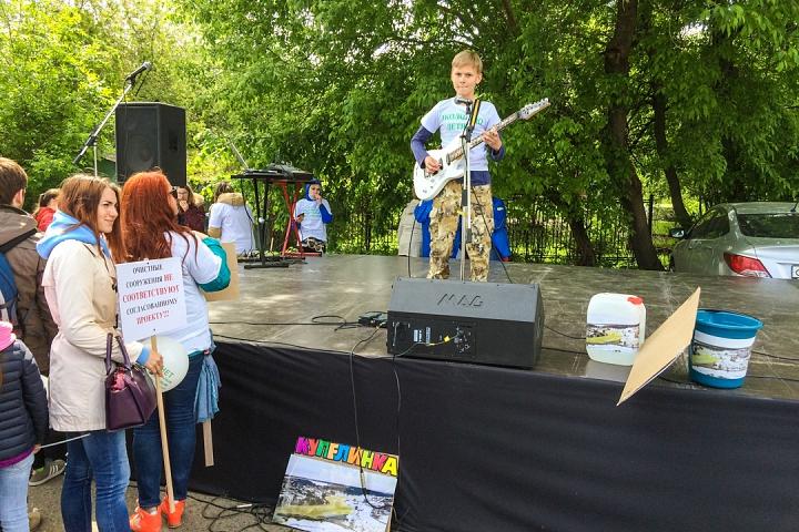 В Видном прошел масштабный митинг-концерт «Экологию детям! Нет локальным очистным сооружениям «Эко-Видное» фото 18
