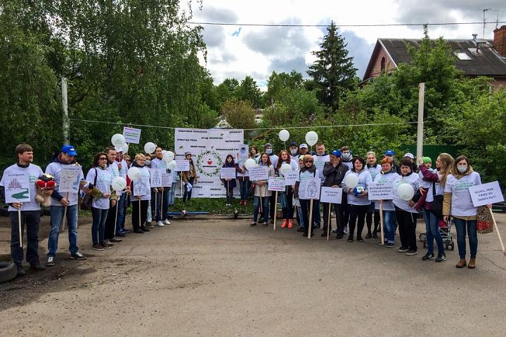 В Видном прошел масштабный митинг-концерт «Экологию детям! Нет локальным очистным сооружениям «Эко-Видное» фото 25