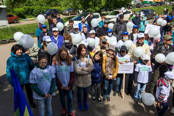В Видном прошел масштабный митинг-концерт «Экологию детям! Нет локальным очистным сооружениям «Эко-Видное» фото 7