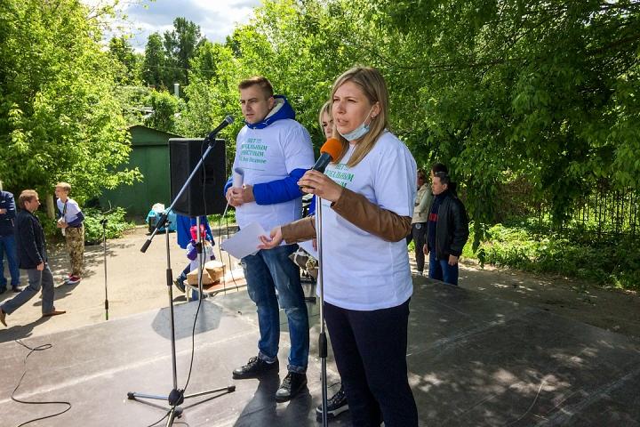 В Видном прошел масштабный митинг-концерт «Экологию детям! Нет локальным очистным сооружениям «Эко-Видное» фото 2
