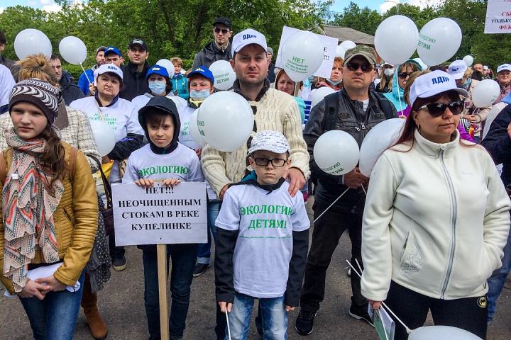 В Видном прошел масштабный митинг-концерт «Экологию детям! Нет локальным очистным сооружениям «Эко-Видное» фото 11