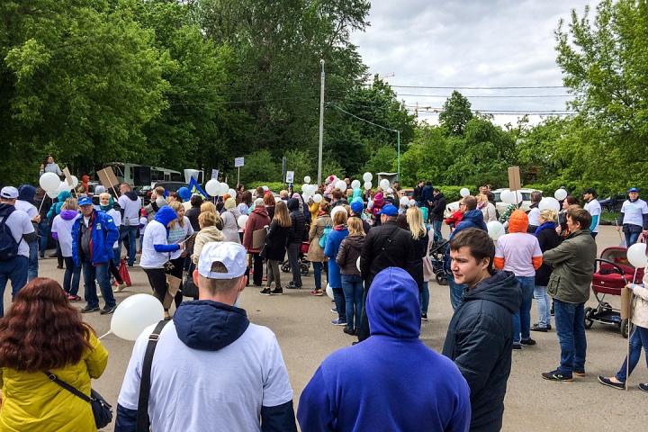 В Видном прошел масштабный митинг-концерт «Экологию детям! Нет локальным очистным сооружениям «Эко-Видное» фото 22