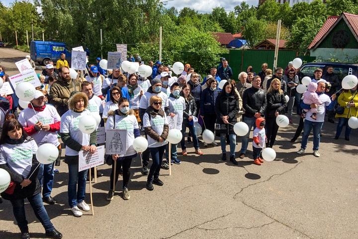 В Видном прошел масштабный митинг-концерт «Экологию детям! Нет локальным очистным сооружениям «Эко-Видное» фото 6
