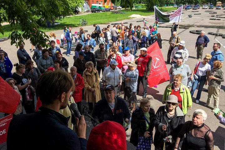 Состоялся митинг против проектов ПЗЗ, предполагающих тотальную застройку Ленинского района