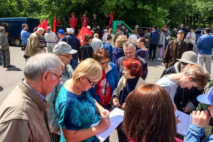 Состоялся митинг против проектов ПЗЗ, предполагающих тотальную застройку Ленинского района фото 9