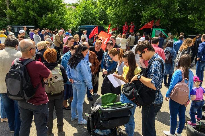 Состоялся митинг против проектов ПЗЗ, предполагающих тотальную застройку Ленинского района фото 10