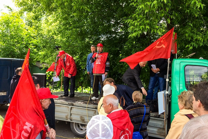 Состоялся митинг против проектов ПЗЗ, предполагающих тотальную застройку Ленинского района фото 12