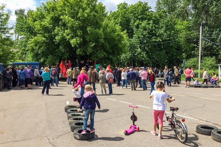 Состоялся митинг против проектов ПЗЗ, предполагающих тотальную застройку Ленинского района фото 2