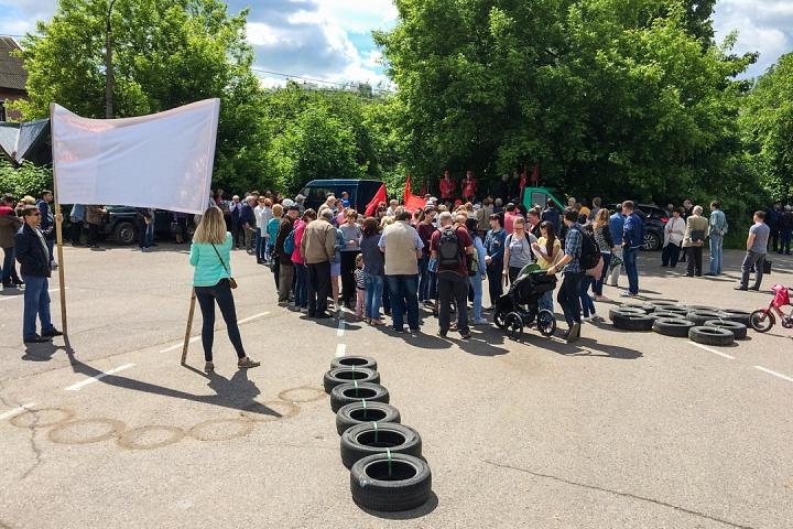 Состоялся митинг против проектов ПЗЗ, предполагающих тотальную застройку Ленинского района фото 11