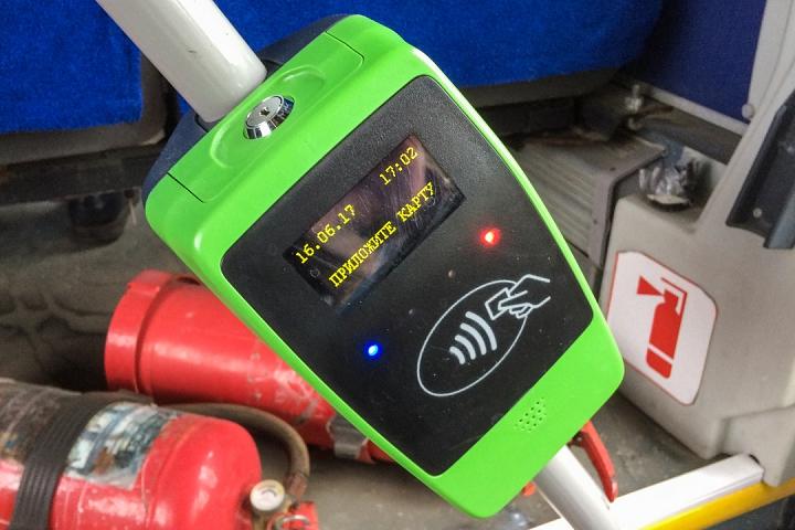 В видновских автобусах начинают работать валидаторы для автоматической оплаты проезда фото 3