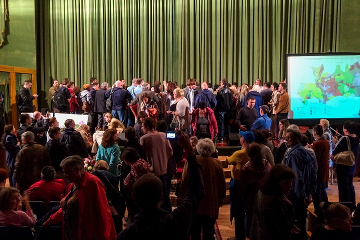 Прошли самые громкие и скандальные публичные слушания в истории города Видное. Видеозапись фото 8