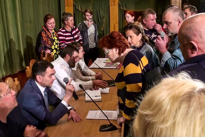 Прошли самые громкие и скандальные публичные слушания в истории города Видное. Видеозапись фото 5