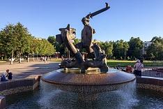 На один неработающий фонтан в Видном стало меньше