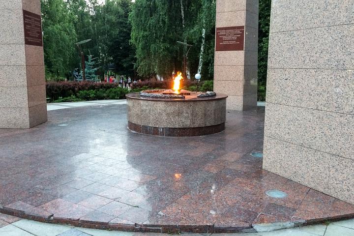 В августе начнется реконструкция Аллеи Славы города Видное