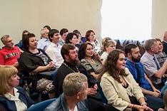 Состоялось первое заседание новой Общественной палаты Ленинского района. Видеозапись