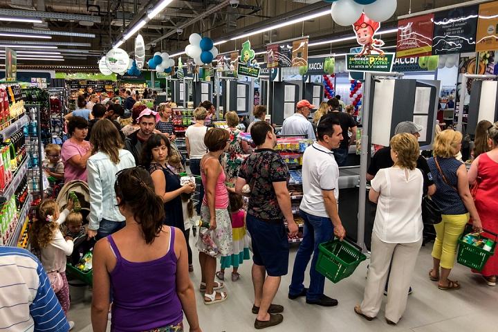 На Березовой улице города Видное открылся супермаркет «Перекресток». Фоторепортаж фото 24