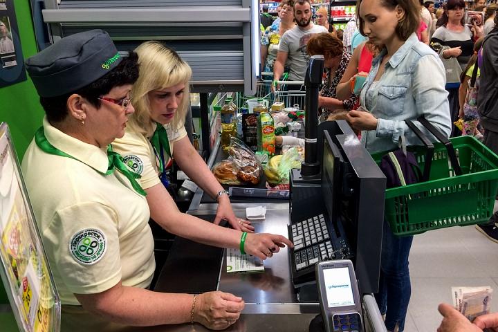 На Березовой улице города Видное открылся супермаркет «Перекресток». Фоторепортаж фото 25