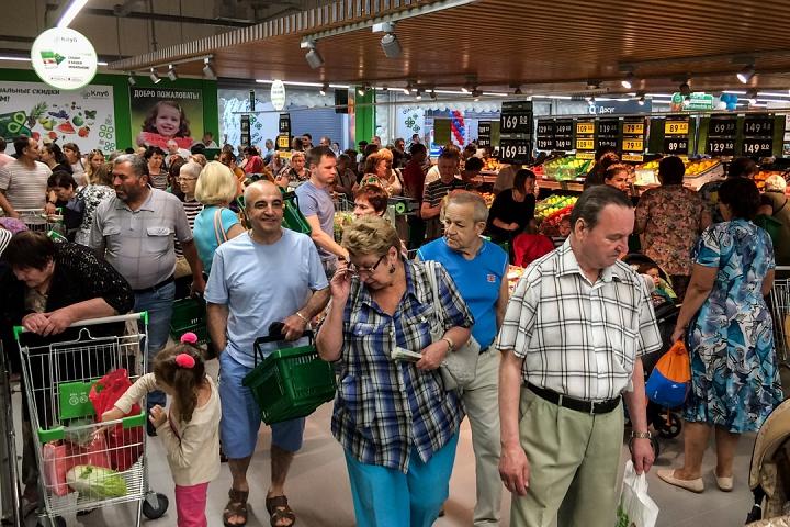 На Березовой улице города Видное открылся супермаркет «Перекресток». Фоторепортаж фото 6