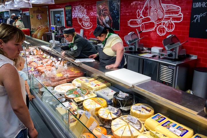 На Березовой улице города Видное открылся супермаркет «Перекресток». Фоторепортаж фото 13