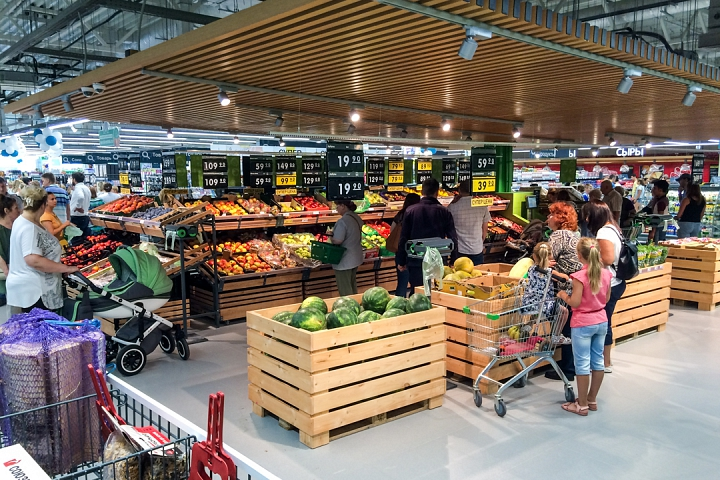 На Березовой улице города Видное открылся супермаркет «Перекресток». Фоторепортаж фото 8