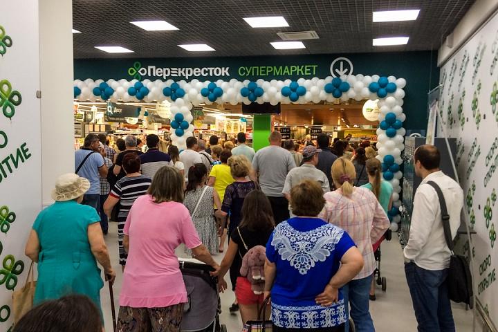 На Березовой улице города Видное открылся супермаркет «Перекресток». Фоторепортаж фото 5