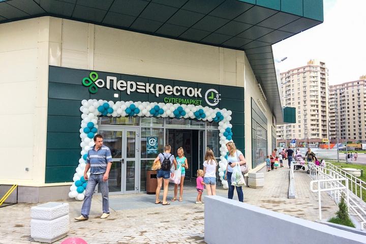 На Березовой улице города Видное открылся супермаркет «Перекресток». Фоторепортаж фото 36