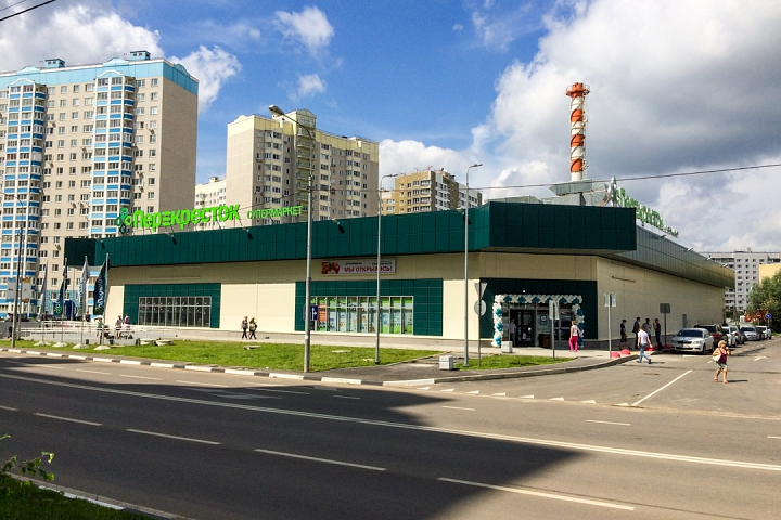 На Березовой улице города Видное открылся супермаркет «Перекресток». Фоторепортаж фото 40