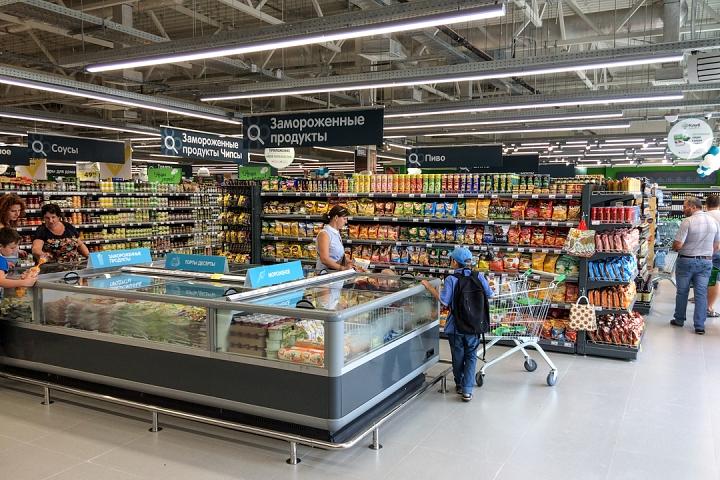 На Березовой улице города Видное открылся супермаркет «Перекресток». Фоторепортаж фото 21