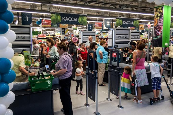 На Березовой улице города Видное открылся супермаркет «Перекресток». Фоторепортаж фото 28