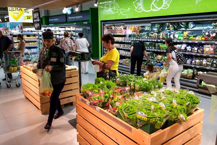 На Березовой улице города Видное открылся супермаркет «Перекресток». Фоторепортаж фото 10