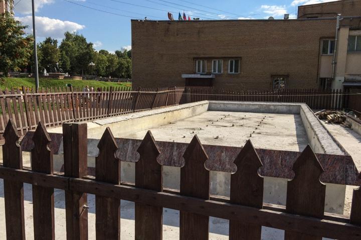 Видное – город неработающих, заброшенных и закопанных фонтанов. Фоторепортаж фото 8