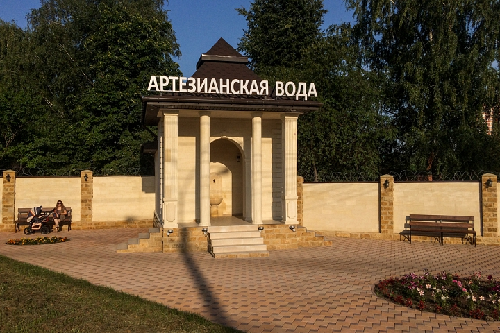 В Видном открыт бювет и презентована «Видновская артезианская вода» в бутылках фото 2