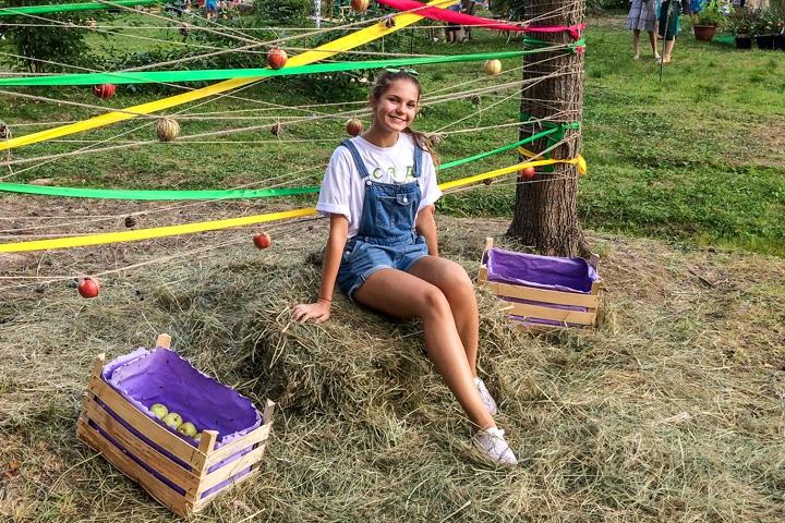 В Расторгуевском парке города Видное прошел фестиваль «Яблочный спас». Фоторепортаж