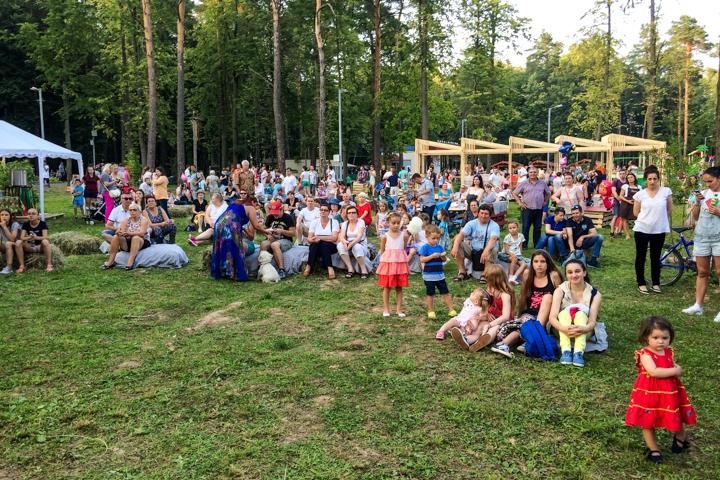 В Расторгуевском парке города Видное прошел фестиваль «Яблочный спас». Фоторепортаж фото 7