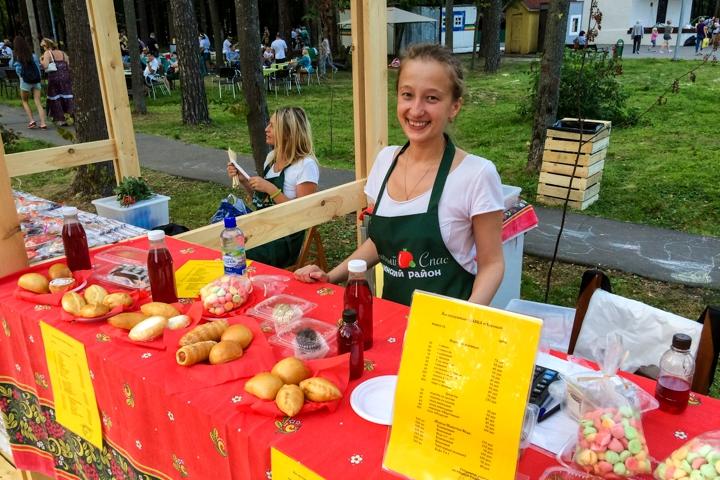 В Расторгуевском парке города Видное прошел фестиваль «Яблочный спас». Фоторепортаж фото 20