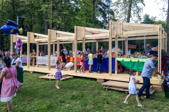 В Расторгуевском парке города Видное прошел фестиваль «Яблочный спас». Фоторепортаж фото 3
