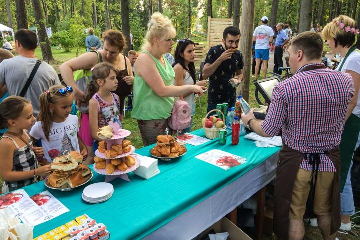 В Расторгуевском парке города Видное прошел фестиваль «Яблочный спас». Фоторепортаж фото 19