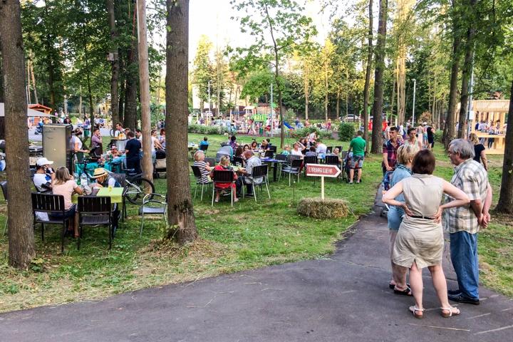 В Расторгуевском парке города Видное прошел фестиваль «Яблочный спас». Фоторепортаж фото 15
