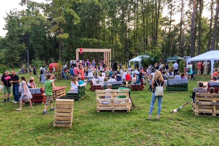 В Расторгуевском парке города Видное прошел фестиваль «Яблочный спас». Фоторепортаж фото 25