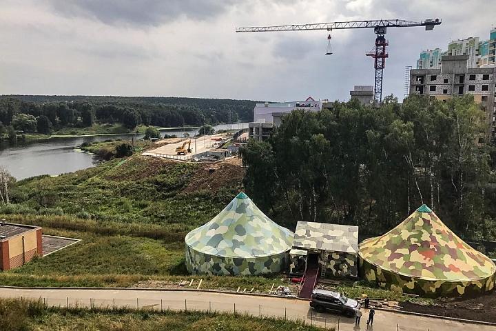 Локальные очистные сооружения микрорайона Купелинка