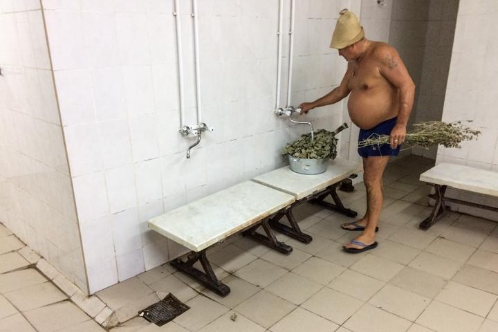 Видновская городская баня вновь открылась. Фоторепортаж фото 20