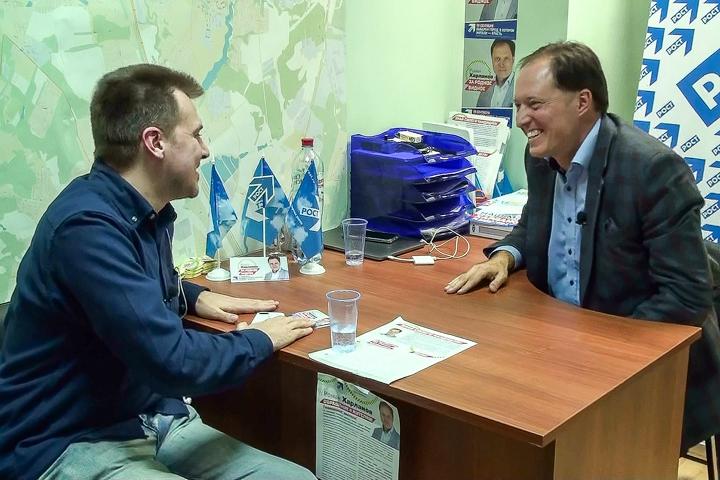Интервью с кандидатом на должность главы г.п. Видное Романом Харлановым