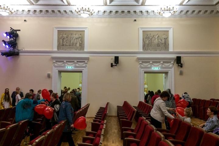 После реконструкции и реставрации открылся Дом культуры города Видное. Фоторепортаж фото 59