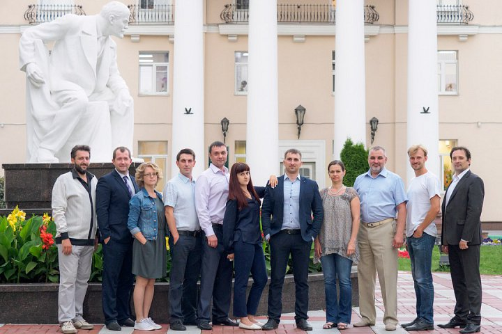 Команда «Видных граждан» (не в полном составе). Фото: https://vk.com/vidniye.grazhdane