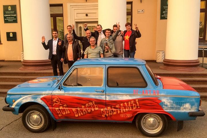 Избранные депутаты г.п. Видное и члены ТИК, которые отстаивали их права. Фото после заключительного заседания ТИК