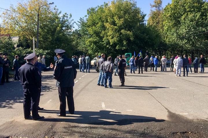 Состоялся митинг, посвященный итогам выборов в Видном и Ленинском районе. Видеозапись