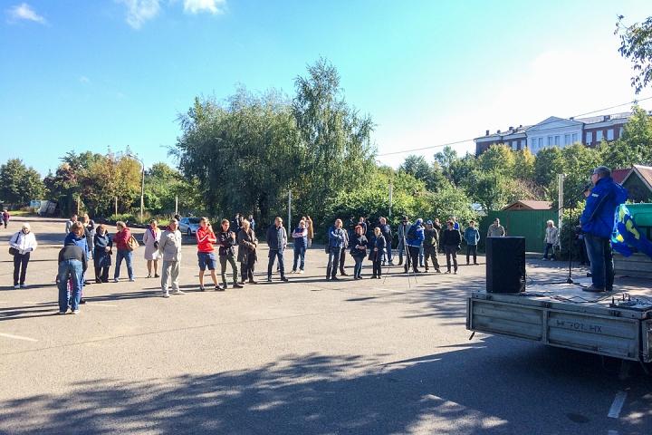 Состоялся митинг, посвященный итогам выборов в Видном и Ленинском районе. Видеозапись фото 2